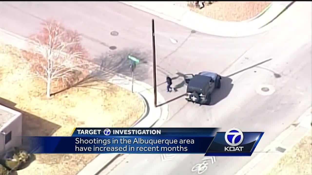 ABQ shootings on the rise