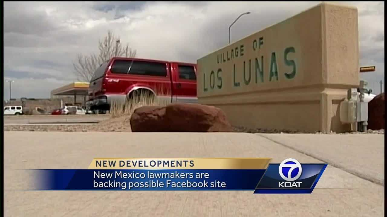 Los Lunas fights to become home to new Facebook data center