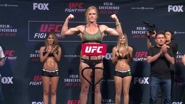 Holly Holm has surgery to repair shattered thumb