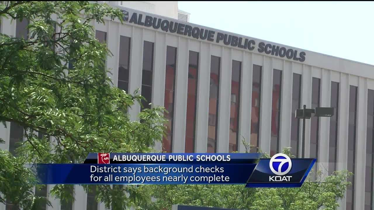 Albuquerque Public Shool background checks