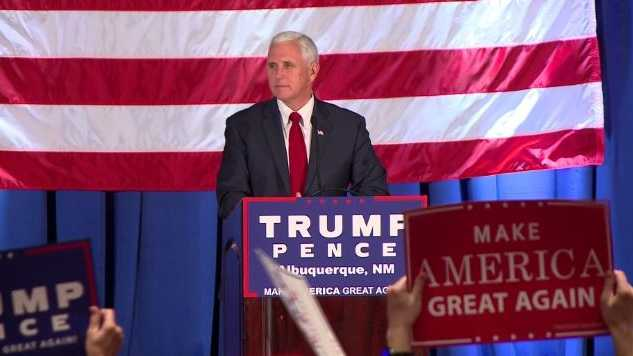 Pence makes campaign stops in New Mexico