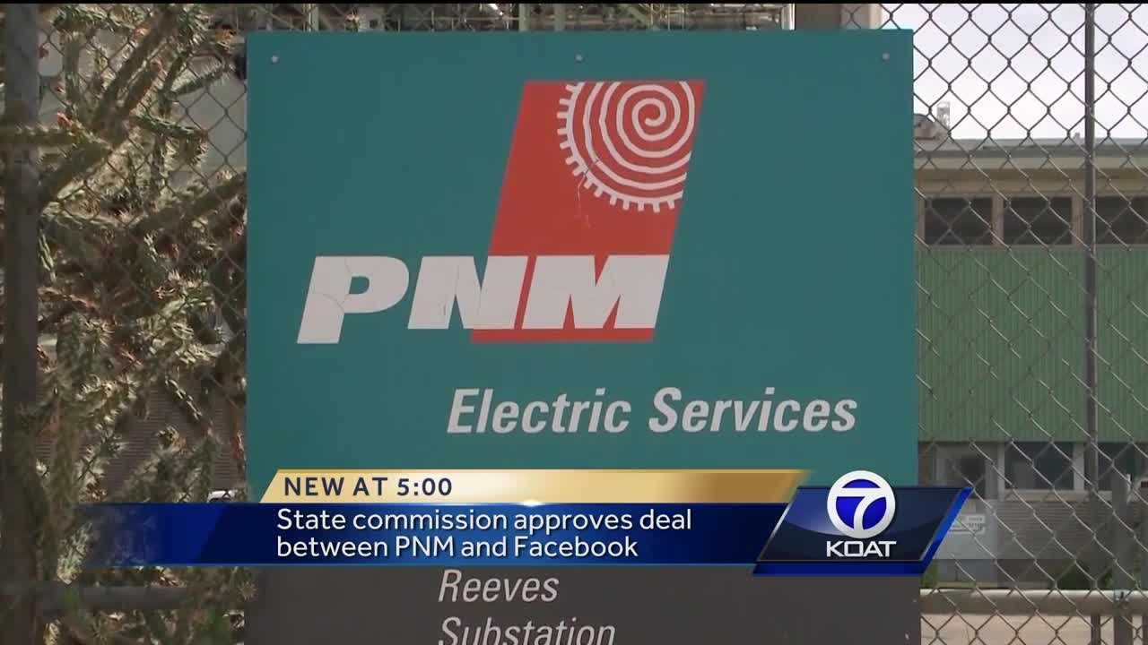 NMPRC approves deal between Facebook and PNM