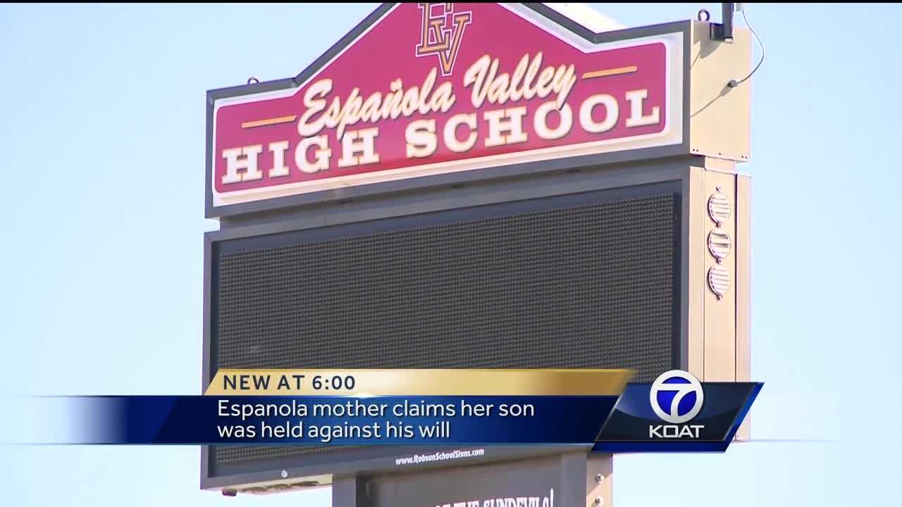 The mother of the student approached the school about the questioning and says her son asked to leave the questioning twice.