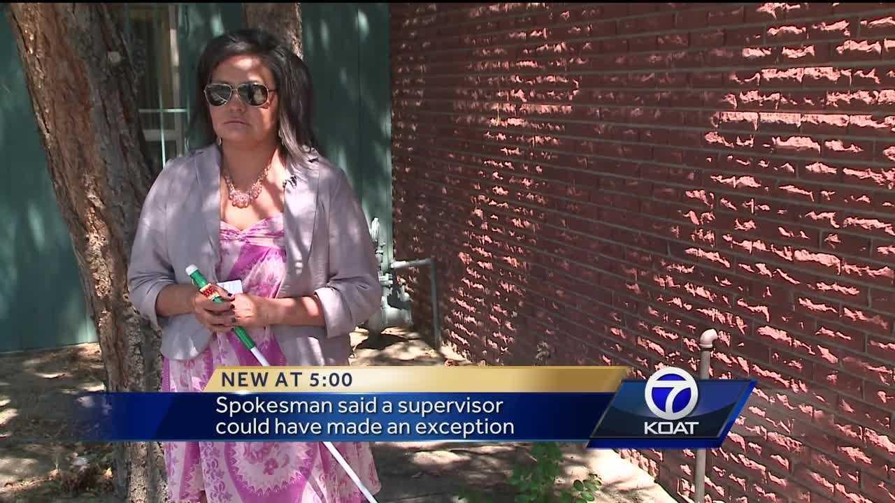 Blind woman denied access on Sun Van