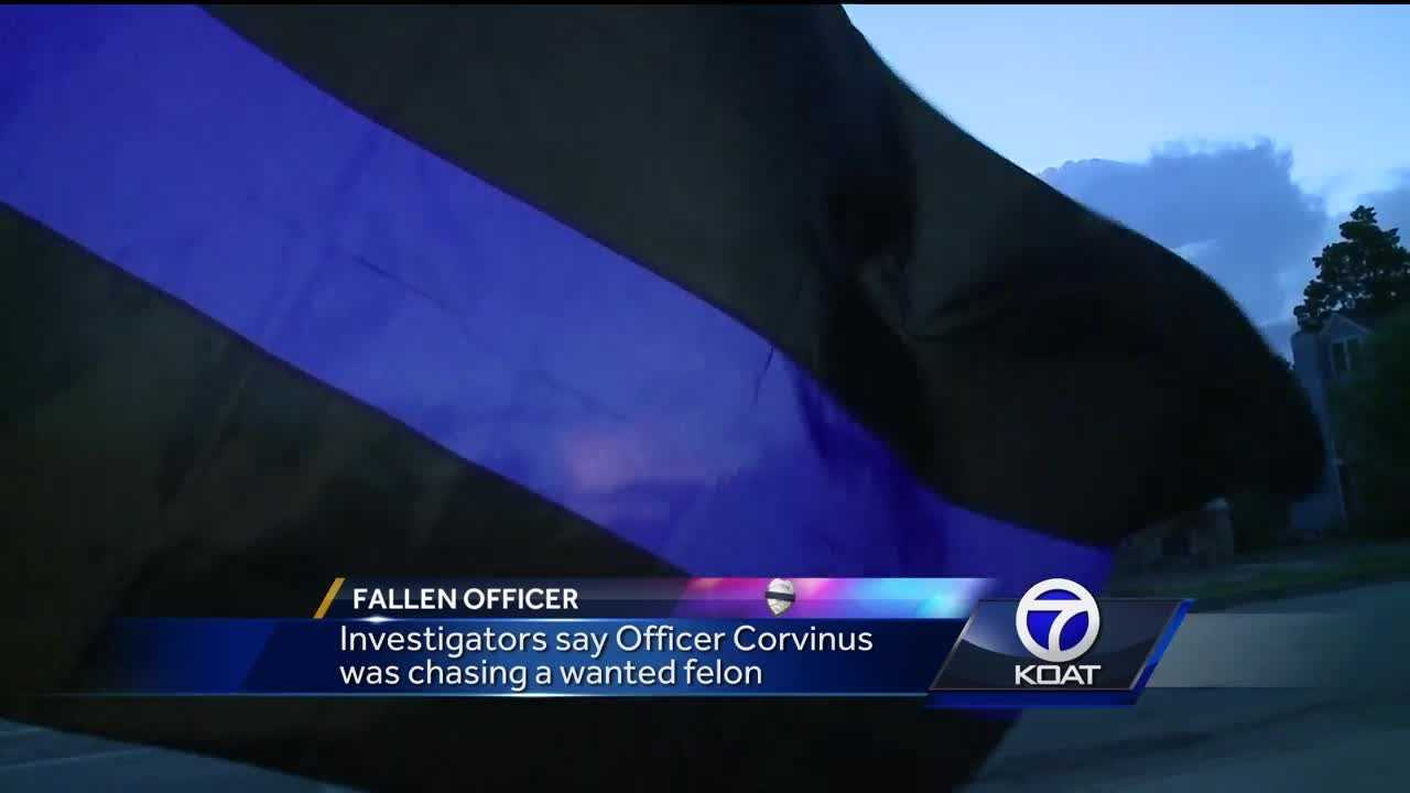 Hearts were heavy last night in Alamogordo, hours after one of their own was killed in the line of duty.