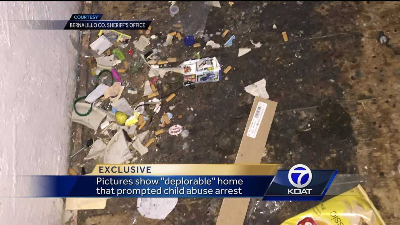 Exclusive photos show 'deplorable' home in child abuse case
