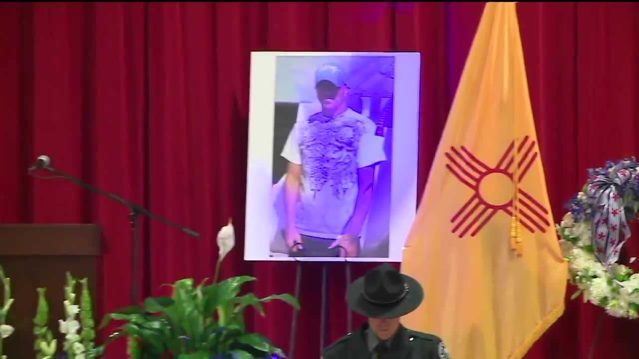 Watch Officer Clint Corvinus' memorial service