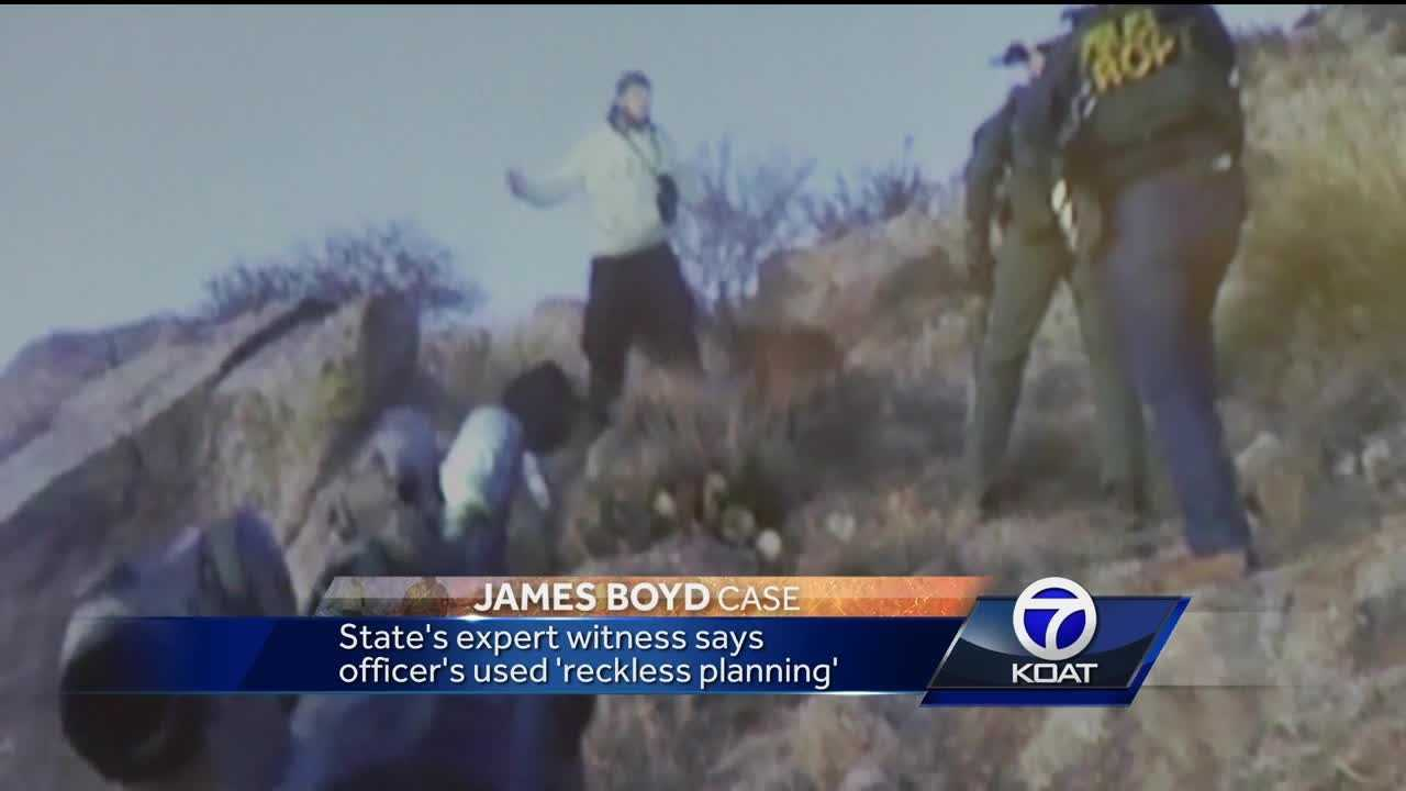Attorneys use video to dispute if James Boyd moved towards officers
