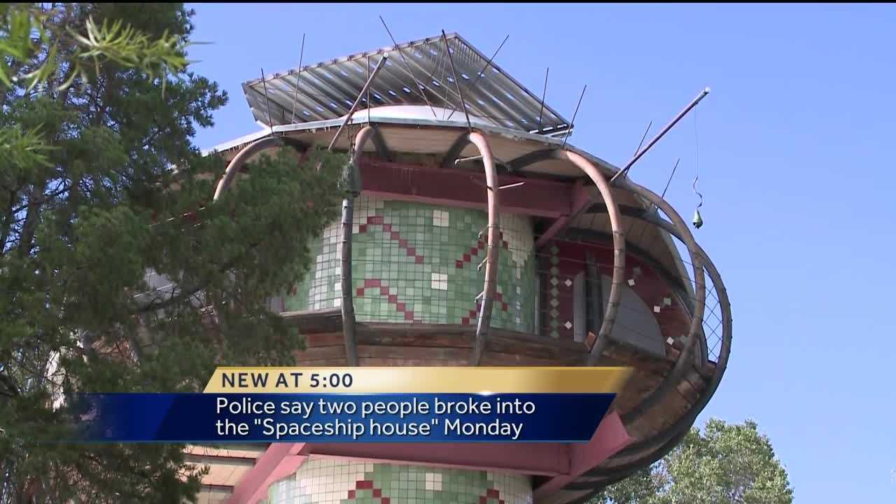 Famous Albuquerque Architect Bart Prince is devastated and disappointed that two people somehow broke into his place and ransacked several rooms.