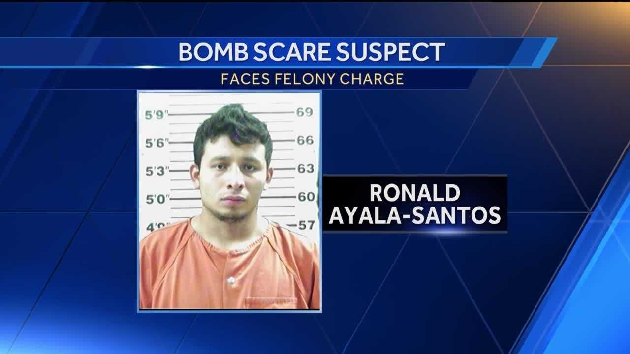 Bomb scare suspect has history of lying to police