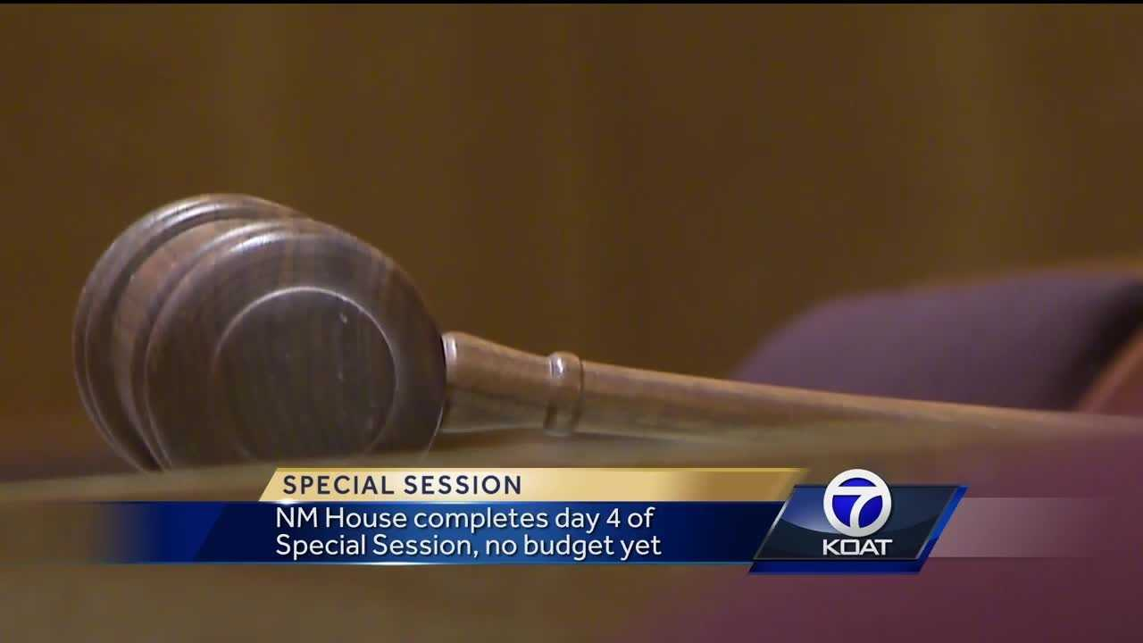 The New Mexico House of Representatives has not yet passed a balanced budget, despite House Republicans proposing a budget before session began Monday.