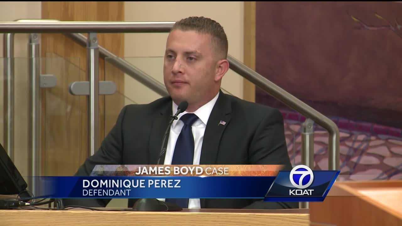 Former officer testifies in his own murder trial
