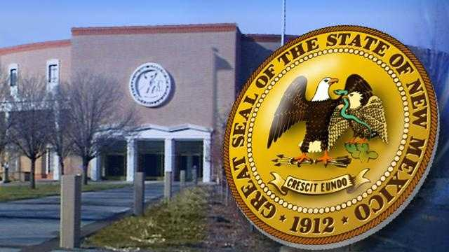 Generic Graphic - Roundhouse & NM State Seal - 14817270