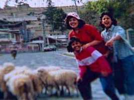Vanessa, Natalie and Cynthia in Ecuador
