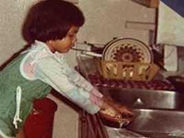 Cynthia Washing Dishes