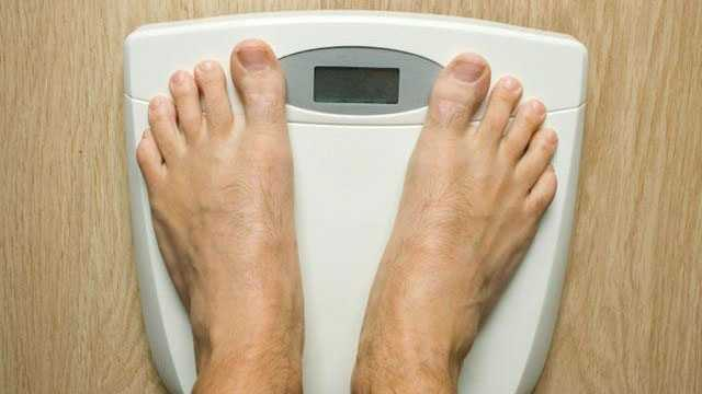 feet on diet scale weight loss