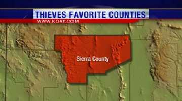 22. Sierra County had 47 reports of property crime.
