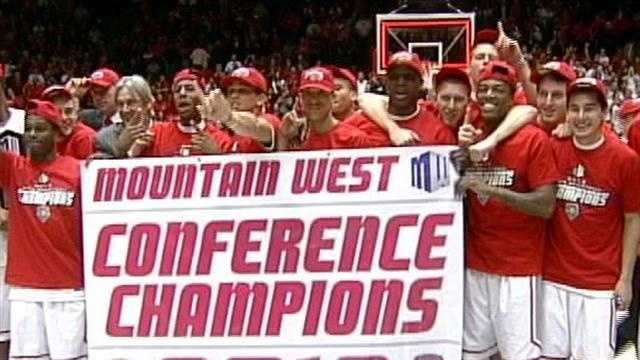New Mexico Lobos Conference Champs - 30613151
