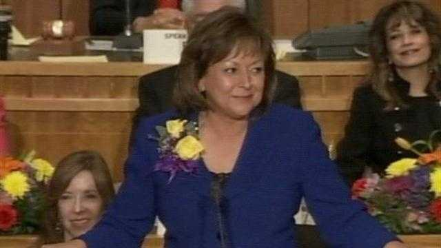 Susana Martinez State Of State 2012 - 30234423