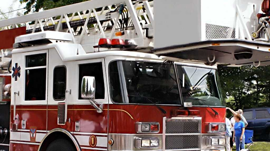 A stock image of a fire truck.