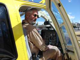 Lawson has been a pilot since 1981. His first flight in Sky 7 was New Year's Day 2005.