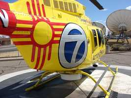 Action 7 News requested and was granted permission by the Zia Pueblo to prominently display its ancient tribal symbol on the new Sky 7.