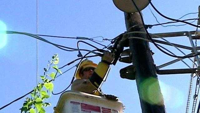 OG&E Tests New Power Lines - 17861467
