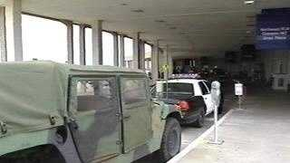 National Guard Truck At Airport - 1005714