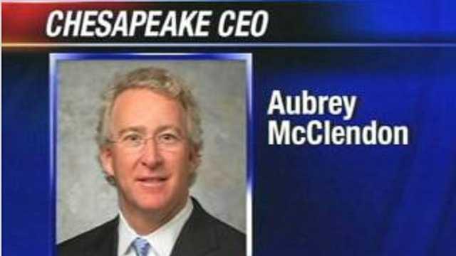 Chesapeake CEO Aubrey McClendon