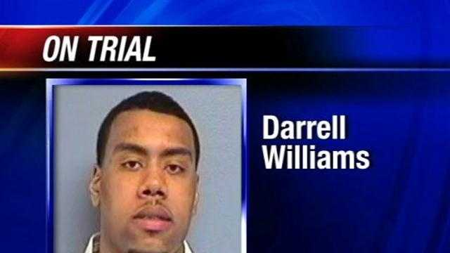 DARRELL WILLIAMS IN COURT