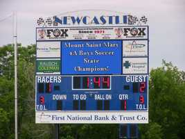 #5 Mount Saint Mary Rockets won in overtime, beating the #1 ranked Santa Fe South Saints 2-1. They trailed 1-0 until :17 left in regulation tying 1-1 and forcing overtime.