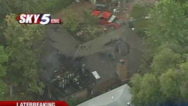 Norman fire crews battled an early-morning house fire Tuesday.
