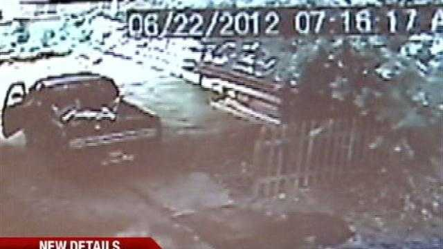Local police are asking for help to locate a man they say has been stealing construction materials. Officers say he may have done it repeatedly.