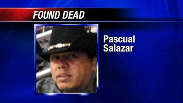 The wife of a man who has been missing since late May says he was found dead on Tuesday.