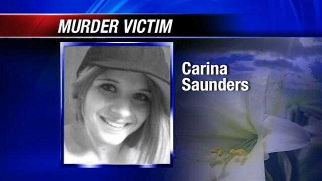 Charges filed against 2 in death of Carina Saunders