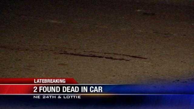 2 found dead in NE OKC car