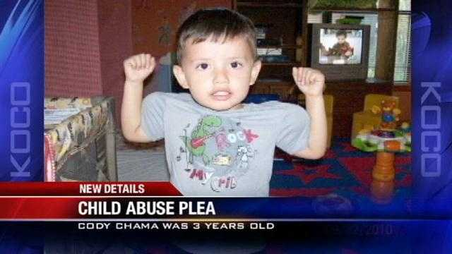 A McLoud man who pleaded guilty to the murder of a 3-year-old boy is scheduled to be sentenced Monday.