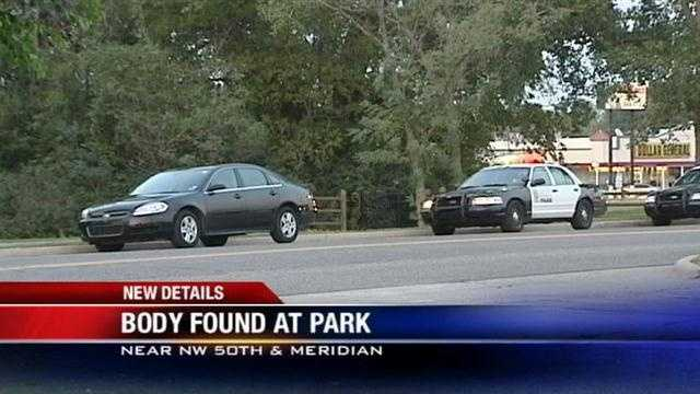 A body found at a metro park is being examined.