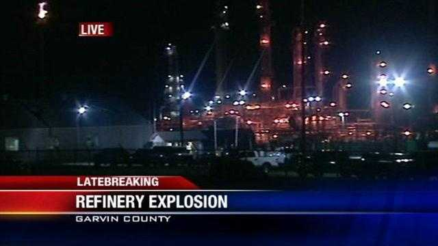 A boiler explosion at a refinery in Wynnewood killed one person and hurt another. KOCO's Michael Seiden has the 10 p.m. update.