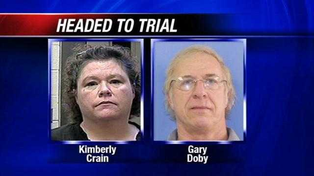 A trial date has been set in the case of Kimberly Crain and Gary Doby, accused of sexually exploiting schoolgirls. KOCO's Maggie Stokes has the details.