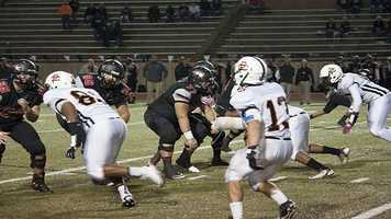 Westmoore had a difficult time handling the Putnam City defense.