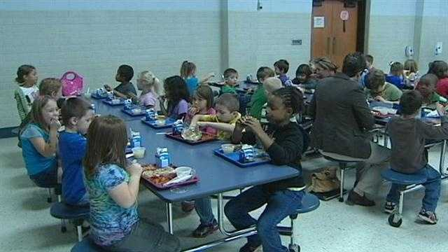 A new federal government mandate is presenting a challenge for lunch rooms across the country.