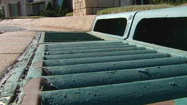 Storm grates are being stolen in Midwest City, causing a big concern for city officials. KOCO's Naveen Dhaliwal has the story.