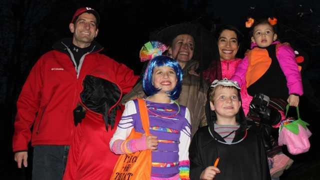 Paul Ryan, Halloween 2012