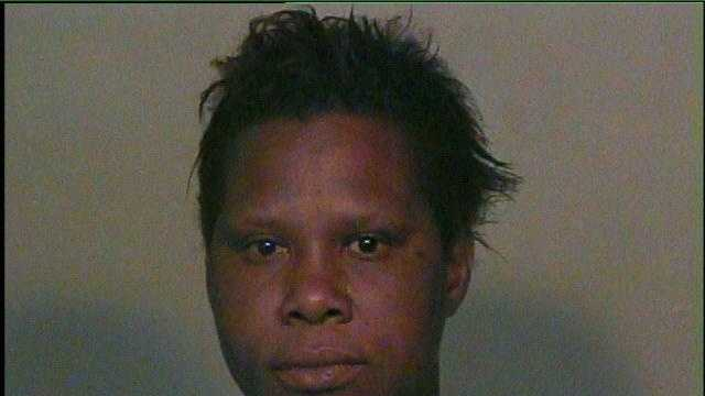 Tarlynda Huff, 32, was arrested on suspicion of trying to burn down her boyfriend's home. Click here to read more.