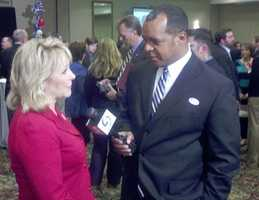 KOCO Eyewitness News 5's Wendell Edwards interviewed Gov. Mary Fallin at the GOP Watch Party.