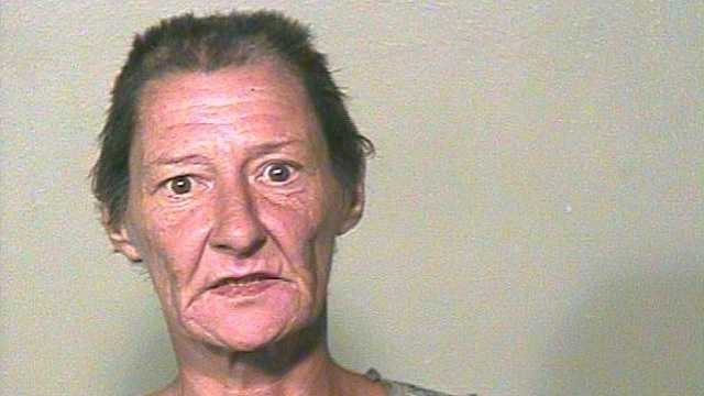 Police say Lisa Ann Harper, 52, was huffing paint in front of a convenience store with her grandson. Click here to read the story.