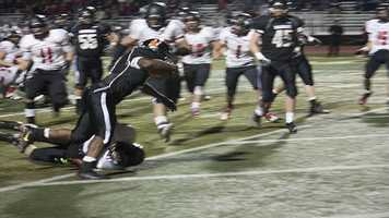 Running back A'reion Hines added a touchdown toward the end of Norman's 38-13 victory. The Tigers ran at will against the Millers.