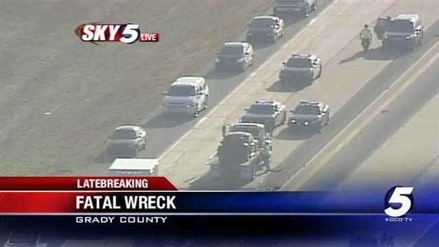 1 killed in crash along Oklahoma turnpike