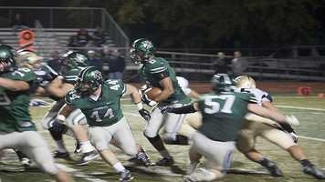 Jordan Evans (6) carries the ball during Norman North's victory. Of the T-Wolves 21 points, Evans provided 12 of those points. The first touchdown came off of a 11-yard run and the other off of a kick off return. Evans has several offers and is now being looked at by OU. He plays on offense, defense and special teams.